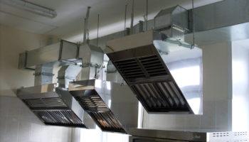 Вентиляция на кухне ресторана