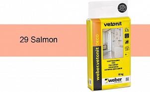Затирка для швов weber.vetonit Deco 29 Salmon