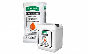 Эластичная 2-х компонентная гидроизоляция ОСНОВИТ ДУОСКРИН Т-62 (АКВАСКРИН HC62)