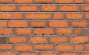 Клинкерная фасадная плитка Feldhaus Klinker R758 vascu terracotta