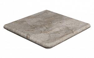 Клинкерная угловая ступень-флорентинер Gres Aragon Rocks Gris