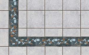 Угол для бордюра Stroeher Keraplatte Roccia RO01