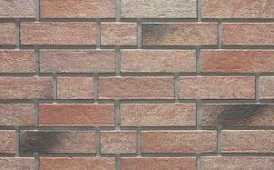Клинкерная фасадная плитка Stroeher Zeitlos 357 backstein рельефная NF14