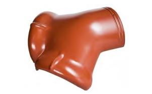 Керамическая черепица вальмовая начальная Koramic Brown Engobe