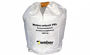 Бетон для заделки вертикальных швов weber.vetonit PSL