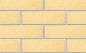 Фасадная клинкерная плитка Экоклинкер ваниль березка