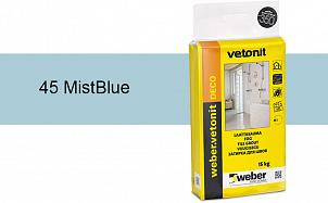 Затирка для швов weber.vetonit Deco 45 Mist Blue