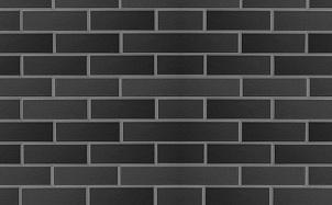 Клинкерная фасадная плитка ABC Schwarz rmatt гладкая DF10