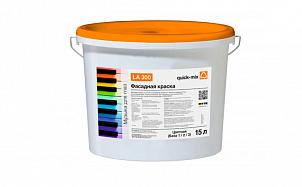 Акриловая фасадная краска quick-mix LA 300 белая