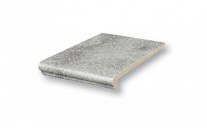 Клинкерная ступень флорентинер Stroeher Keraplatte Roccia 840 grigio