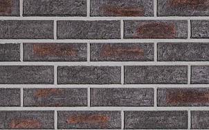 Клинкерная фасадная плитка Roben Manus Moorea рельефная NF14