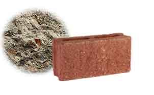 Облицовочный бетонный камень рядовой Меликонполар СКЦ 2Л-4 серый