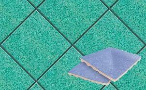 Плитка для стока угловая для промышленных помещений Stroeher Secuton ТS50 mint