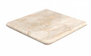 Клинкерная угловая ступень-флорентинер Gres Aragon Rocks Beige