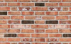 Фасадная плитка ручной формовки Roben Moorbrand Torf-bunt NF14