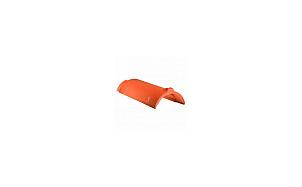 Керамическая черепица коньковая CREATON PZ медно-красный ангоб