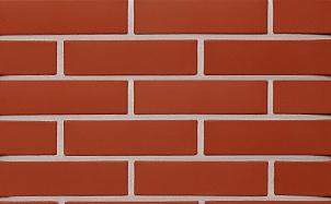 Кирпич лицевой керамический пустотелый КС-Керамик красный гладкий