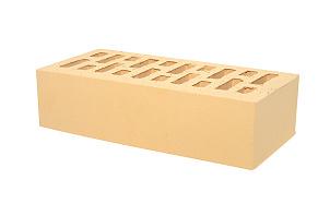 Кирпич лицевой керамический пустотелый Тербунский гончар золотистый гладкий 250*120*65 мм (г. Липецк)