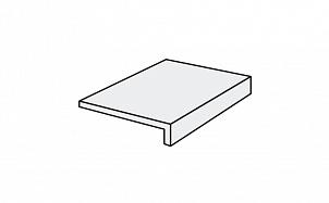 Клинкерная ступень прямоугольная Stroeher Keraplatte Roccia X 920 weizenschnee