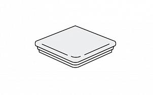 Клинкерная угловая ступень флорентинер Stroeher Keraplatte Roccia 840 grigio