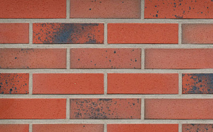 Клинкерная фасадная плитка Roben Taunus Schmelz-bunt рельефная NF14