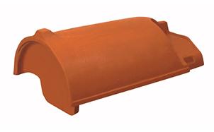 Керамическая черепица начальная коньковая Koramic № 16 Altrot