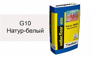 Цветной наливной пол weber.vetonit 4650 G10 светло-бежевый