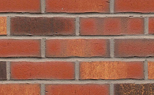 Клинкерная фасадная плитка Feldhaus Klinker R744 vascu carmesi legoro
