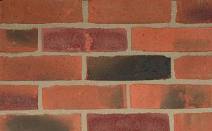 Кирпич облицовочный ручной формовки Terca Royston Mixed Red (65MM ROYSTON MIXED RED)