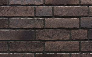 Клинкерная фасадная плитка Stroeher Zeitlos 368 sepiaquarz рельефная NF14
