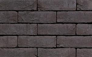 Кирпич облицовочный ручной формовки Terca Agora Grafietzwart (WF ECO Graphite Black)