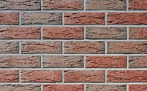 Клинкерная фасадная плитка Roben Vogtland Bunt рельефная NF14