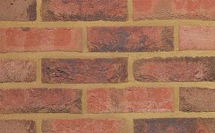Фасадная плитка ручной формовки Terca Agaat (65mm Medium Surrey Blend)