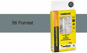 Затирка для швов weber.vetonit Deco 56 Forrest