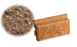 Облицовочный бетонный камень Меликонполар Polarik коричневый 5%