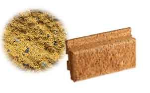 Облицовочный бетонный камень Меликонполар Polarik желтый