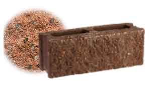 Облицовочный бетонный камень рядовой Меликонполар СКЦ 2Л-9 гранитный