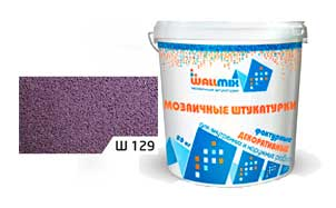 Цветная мозаичная штукатурка WallMix Ш129 Velour 0