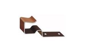Зажим для коньковой черепицы Koramic № 15 коричневый