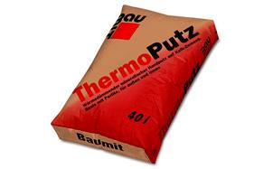 Теплоизоляционная штукатурка Baumit ThermoPutz