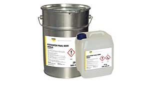 Эпоксидное тонкослойное покрытие на водной основе KEMA KEMAPOX C 6500 AQUA (KEMAPOX FINAL 6500 AQUA)