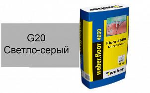 Цветной наливной пол weber.vetonit 4650 G20