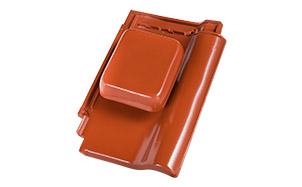 Проходной комплект для вентиляции Koramic Alegra 9 Noble Brick Red Engobe