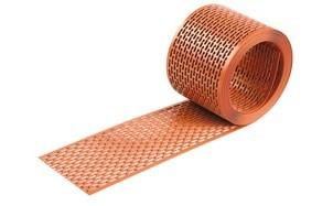 Вентиляционная лента MDM кирпично-красная