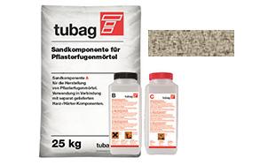 Раствор для заполнения швов брусчатки quick-mix Tubag PFL песочный