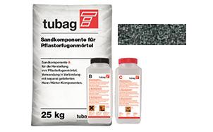 Раствор для заполнения швов брусчатки quick-mix Tubag PFL базальт