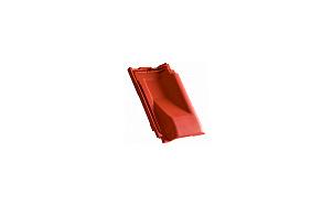 Керамическая черепица вентиляционная CREATON Viva красный ангоб
