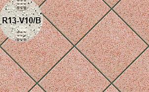 Плитка напольная для промышленных помещений Stroeher Secuton ТS20 rose (R13-V10/B)