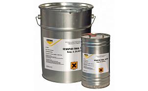 Самонивелирующееся полиуретановое тонкослойное покрытие KEMA KEMAPUR SL 5000 (KEMAPUR FINAL 5000)