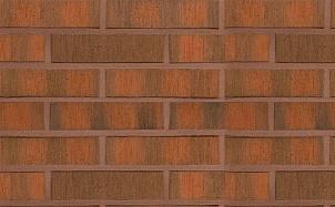 Кирпич облицовочный керамический пустотелый Terca Red flame F2F редуцированный шероховатый